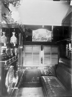Interior of first class sleeping car