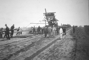 Track layer at 60 miles 11.2.1914