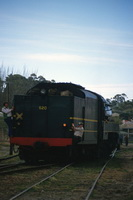 October 1984,Loco 520 at Victor Harbor
