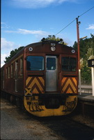 4.1985,Bridgewater - Red Hen Railcar 327