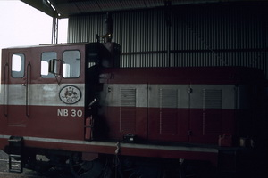 1<sup>st</sup> September 1985,Pichi Richi Railway Quorn NB30 diesel shunter