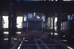 5<sup>th</sup> February 1986,loco NC1 Peterborough roundhouse