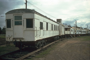 11<sup>th</sup> June 1986,PWS27 + PWA8 car old Brill + others Keith