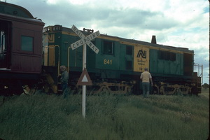 27.9.1986 841 Wambi Hallidan race train