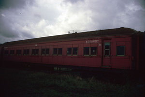15<sup>th</sup> May 1987,Steamrail Newport sitting car 2BE