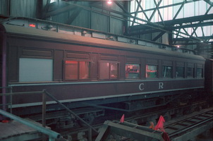 AF 27 exterior 19.08.1987, in the car barn at Port Augusta