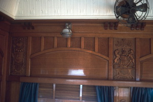 SS 44 dining saloon carved panels
