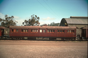 8<sup>th</sup> October 1988,Quorn Pichi Richi Railway sitting car 470