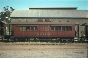 8<sup>th</sup> October 1988,Quorn Pichi Richi Railway - <em>Light</em> car