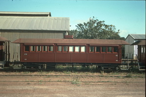 8<sup>th</sup> October 1988,Quorn Pichi Richi Railway sitting car 90