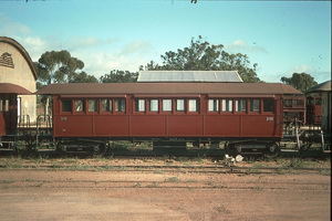 8<sup>th</sup> October 1988,Quorn Pichi Richi Railway sitting car 74