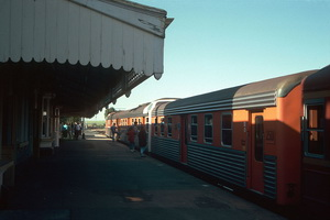 10.10.1988,Riverton Super chook railcars 2301 + 2302 + 2501