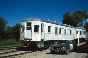 9<sup>th</sup> September 1990,Dry Creek perway sleeper PWS 27