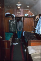 18<sup>th</sup> April 1992,Quorn Pichi Richi Railway - interior <em>Sturt</em> car