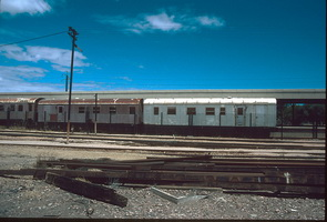 26.1.1996 Port Pirie Station - brake vans AVEY 178  + AVEY 179