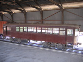 16<sup>th</sup> December 2006,National Railway Museum - Port Adelaide - Brill 5 rail car - no.8