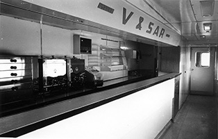 Joint RBJ 1 interior as originally built showing counter servery area