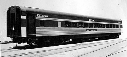 First class sitting car 1 AJ as originally built