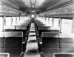 First class sitting car interior as originally built