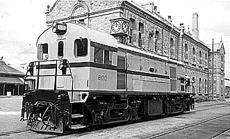 Locomotive 800