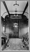 Interior of smoking compartment of AF 49 taken in February 1936 following air conditioning