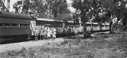 Hospital Train Adelaide River 2.8.1944.