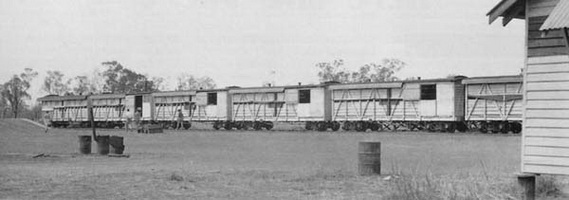 Hospital Train Katherine on 28.9.1943