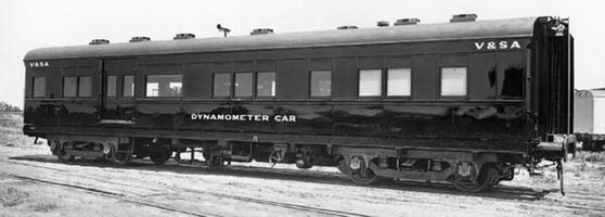 Dynamometer Car shortly after being built