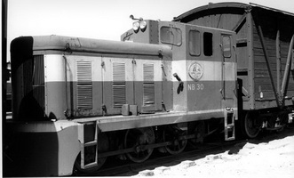 NB 30 at Port Augusta 1976