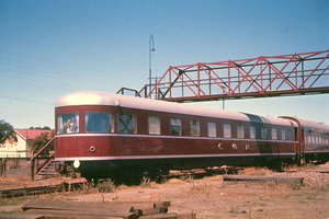 Port Pirie Junction - ARF round end observation car - January 1961