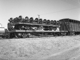 18.8.1969,Marree - Commonwealth Railways Wagon QA645 NRJ1560