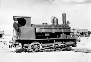 Outer Harbour - loco I161 when used on Outer harbour construction
