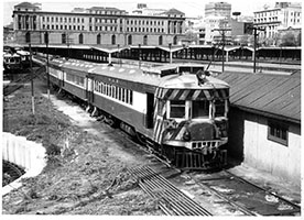 10.1959,railcar SAR brill No. 31 + 2x others at depot,Adelaide Station