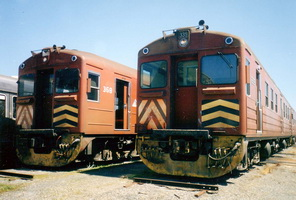 8.10.1996,stored redhens 368 + 339 in Adelaide depot
