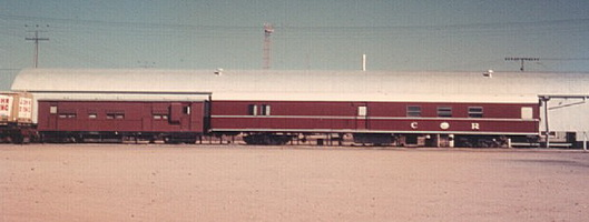 NHRB 62 and NHRD 66 at Alice Springs, 29.3.1970