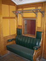 28.10.2007,Seymour Railway Heritage Centre - Interior of <i>ABE</i> class car
